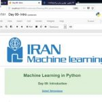 python-and-machine-learning پایتون