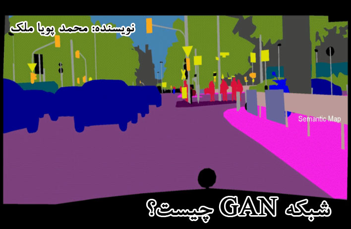 شبکه GAN